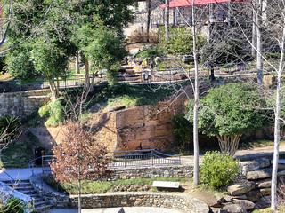Mill Wall at Falls Park