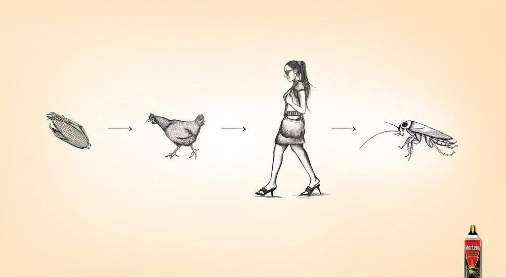 Mortein - Food Chain Woman