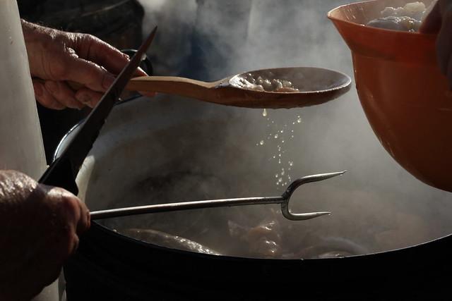 Slovak Pig Butchering