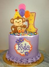 """6"""" Monkey cake"""