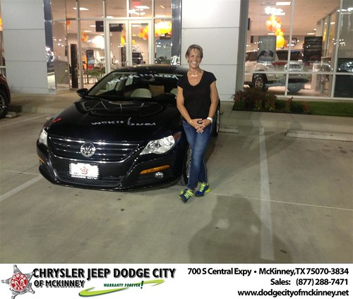Thank you to Laura Lee on the 2013 from Brent Villarreal and everyone at Dodge City of McKinney! by Dodge City McKinney Texas