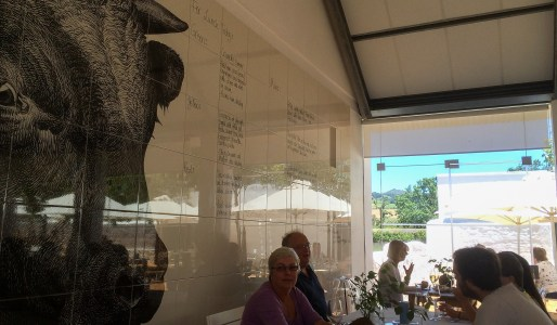 Babel@Babylonstoren - The Bull Wall