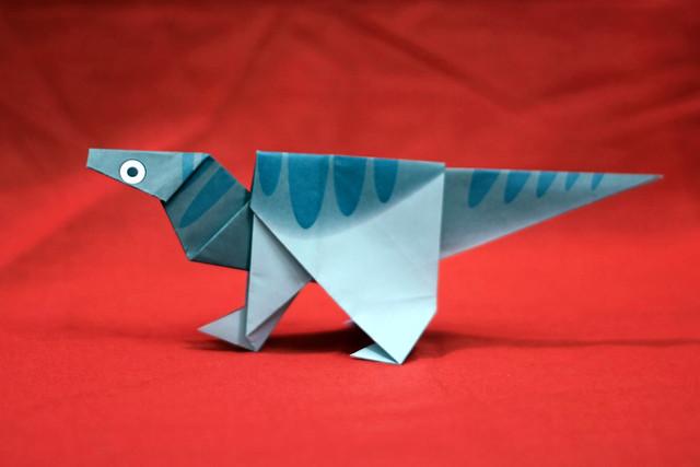 Origami Iguanodon