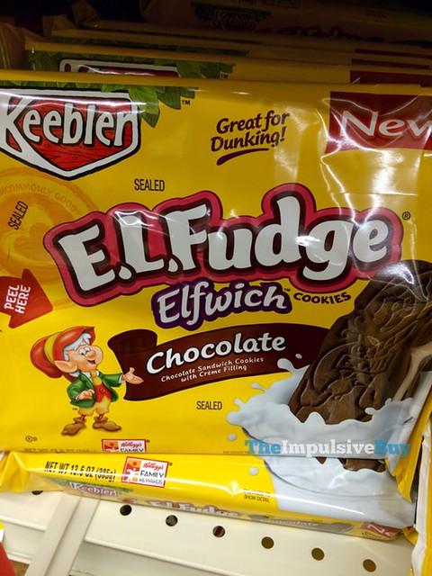 Keebler Chocolate E.L. Fudge Elfwich Cookies