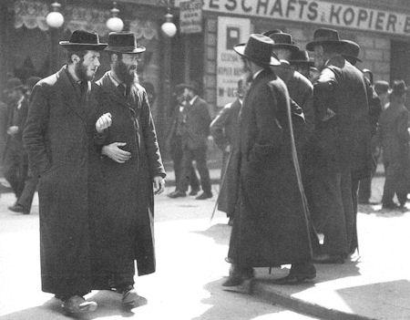 Ebrei chassidici Vienna 1915