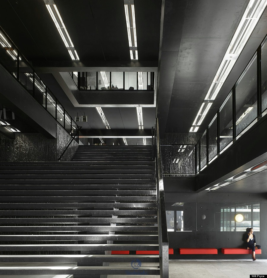 The Utrecht University Library, Netherlands