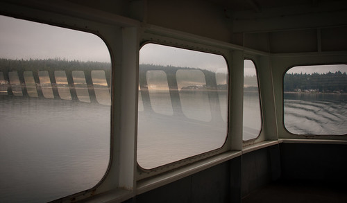 Ferry Windows Reflected