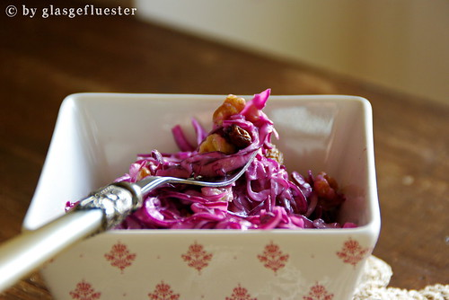 Rotkohl Slaw by Glasgefluester 6