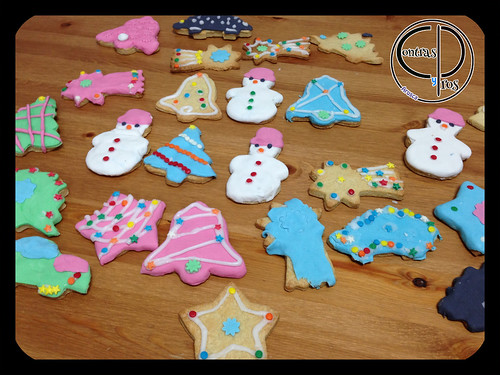 Hacer y decorar galletas con niños 1