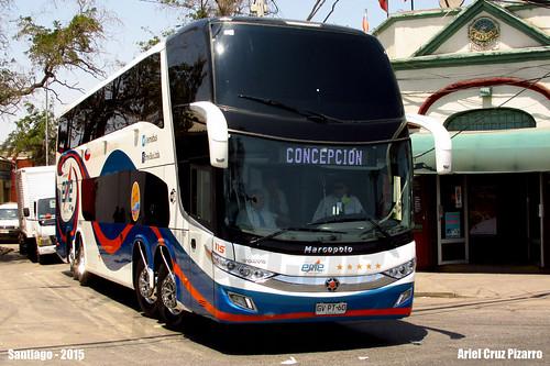 Eme Bus - Santiago (Chile) - Marcopolo Paradiso 1800 DD G7 / Volvo 8x2 (GVPT60)