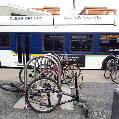Sad bikes Santa Cruz