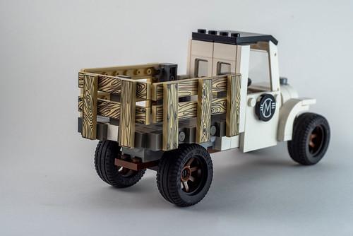 LEGO Old Truck Back
