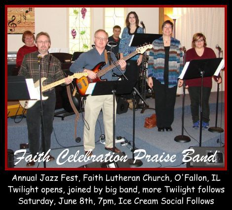 Faith Celebration Praise Band 6-8-13