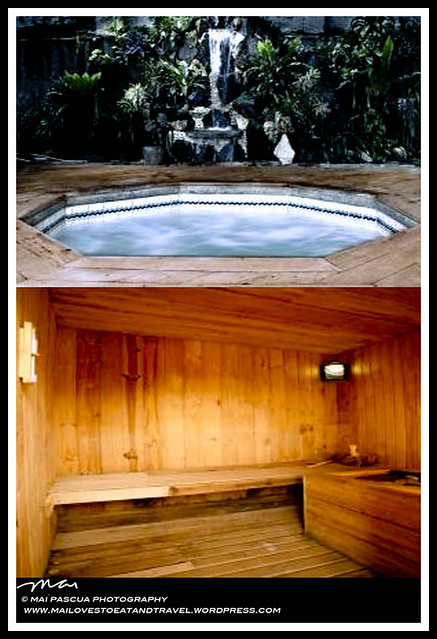 estancia jacuzzi and sauna