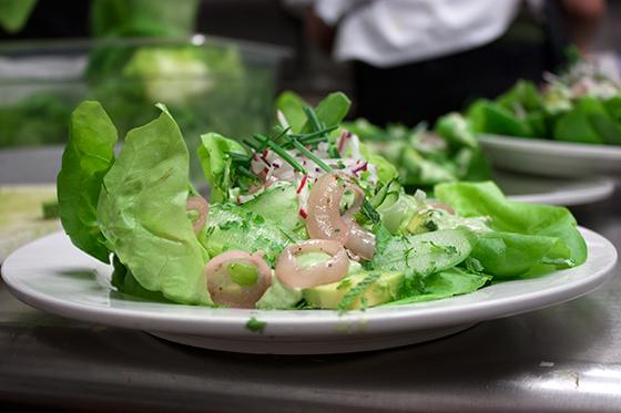 Butter-Lettuce-Salad-SanTan-Beer-Dinner
