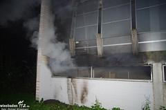 Feuer in Parkhaus Dotzheim 26.10.13