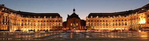 Bordeaux by night - Place de la Bourse