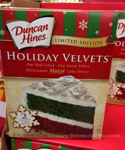 Limited Edition Duncan Hines Holiday Velvets