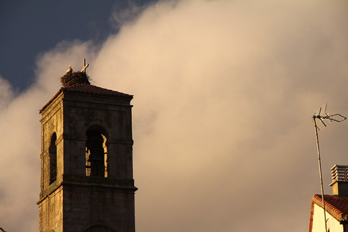Detalle Torre de la Iglesia de Bermillo de Sayago