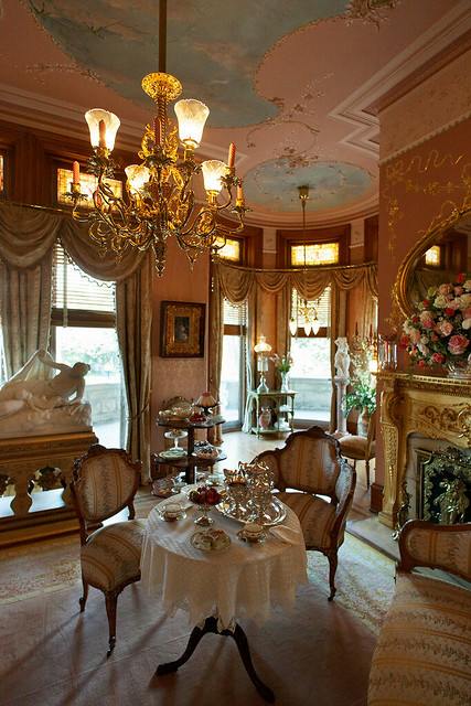 The Tea room at Maymont Mansion