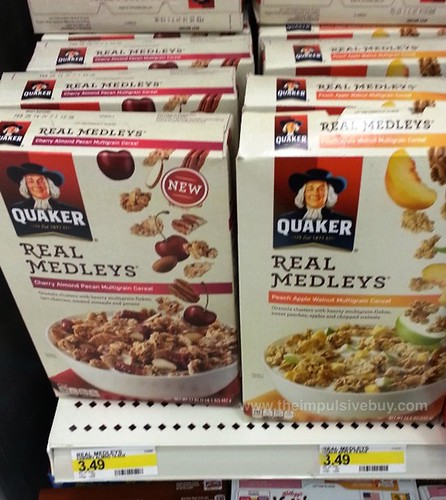 Quaker Real Medleys Cereal