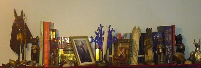 Dead Authors + assorted gods shrine