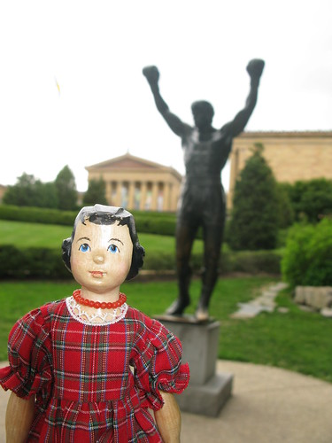 At the Philadelphia Museum of Art