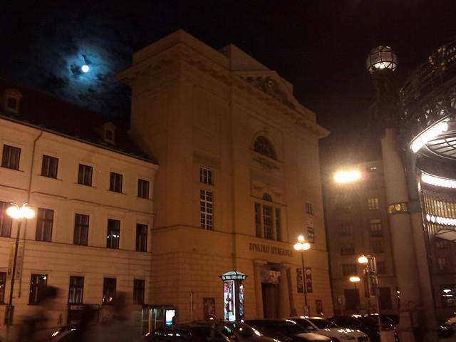 Full Moon in Prague