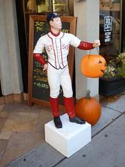 Red Sox lawn jockey