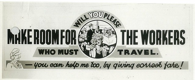 Make Room For The Workers Who Must Travel by Jackson Burton, 1942