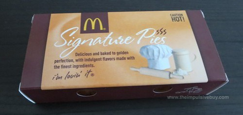 McDonald's Peaches & Cre?me Pie