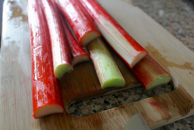 Rye & Rhubarb Cake - 2