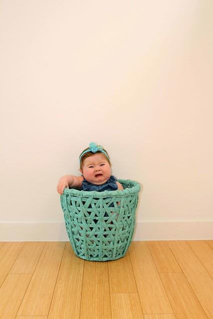 Outgrown the basket