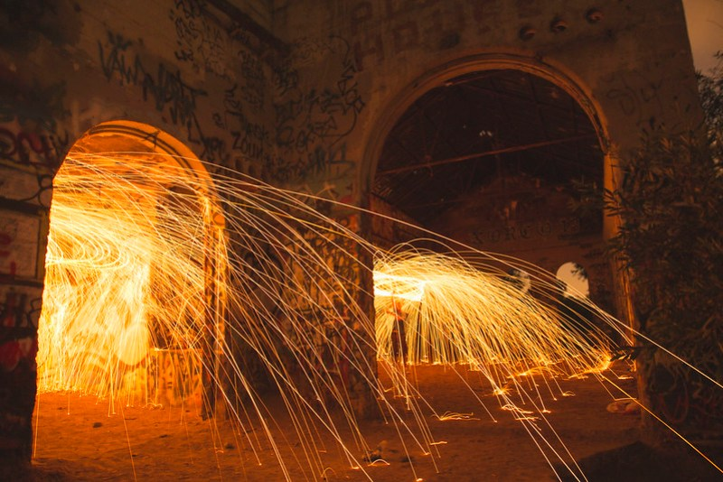 Double Exposure Steel Wool
