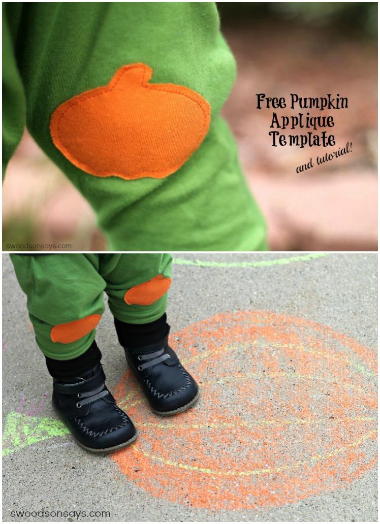 Pumpkin Applique and Wonder Under Tutorial