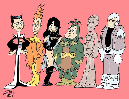 The Legion of Substitute Heroes by Jay Fosgitt by roborange