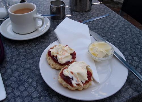 Scones at Primrose Cafe