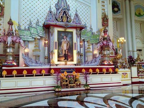 Stora hallen, bild av Kungen