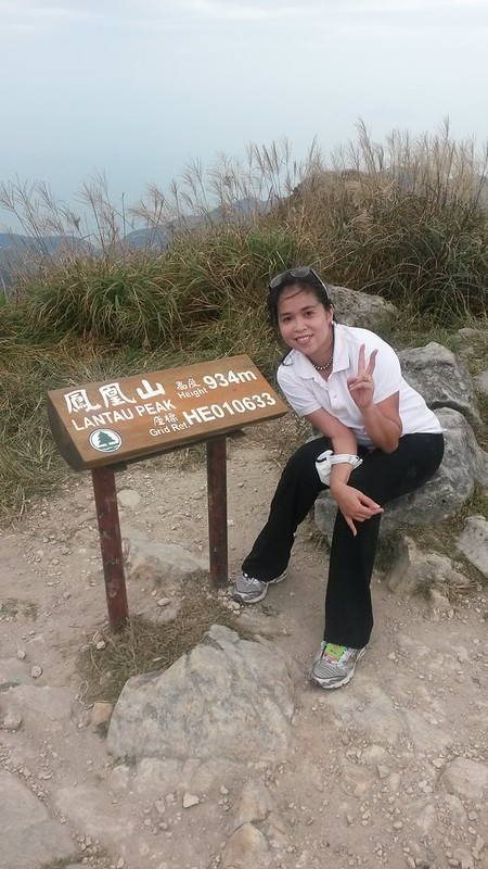 Me at Lantau Peak