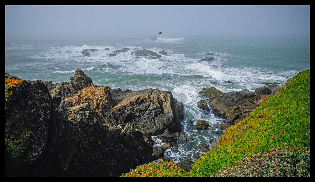 Surf and Sky - Pigeon Point Lighthouse - 2014