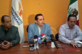 Govea ratifica su candidatura a la gubernatura por Movimiento Ciudadano