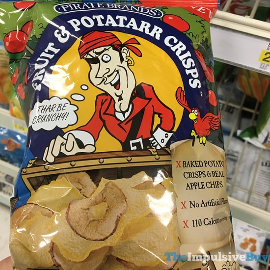 Pirate Brands Apple Chips and Potato Crisps