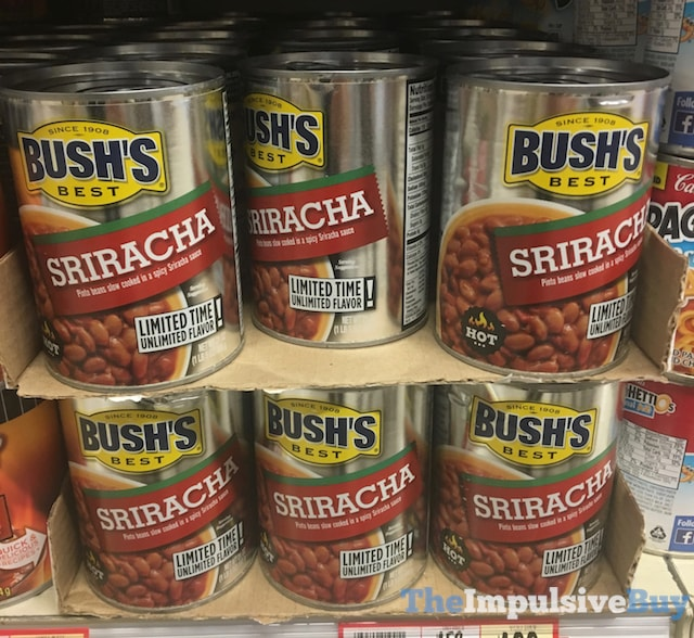 Bush's Best Limited Time Sriracha Pinto Beans