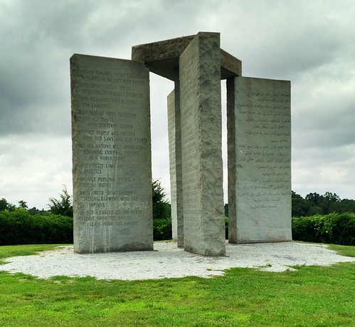 The Georgia Guidestones (2013) by danielrpartain