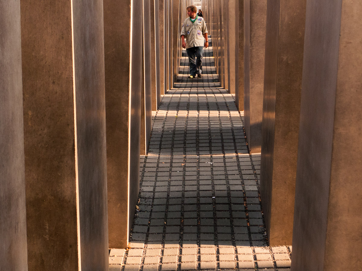 Monumento a los judíos asesinados por el nazismo en Europa