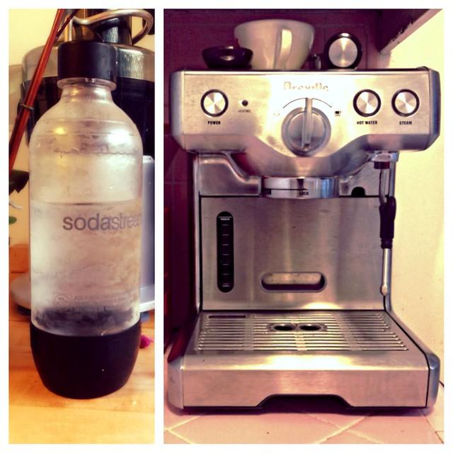 Soda Stream + Espresso Machine