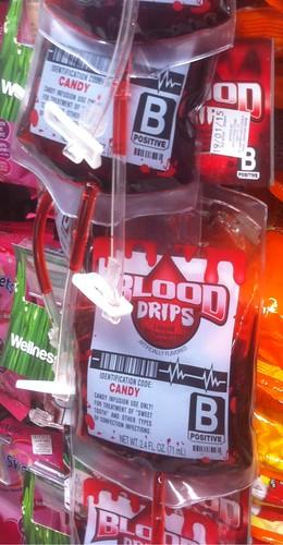 Halloween blood drips