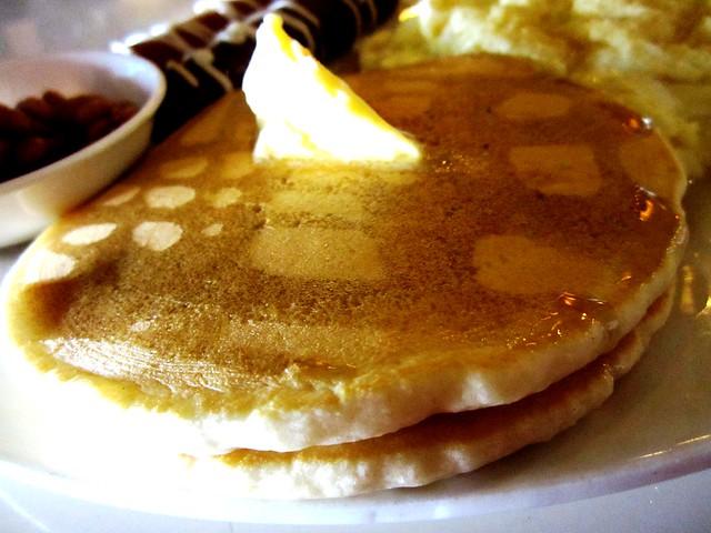 Breakfast@CafeCafe pancakes