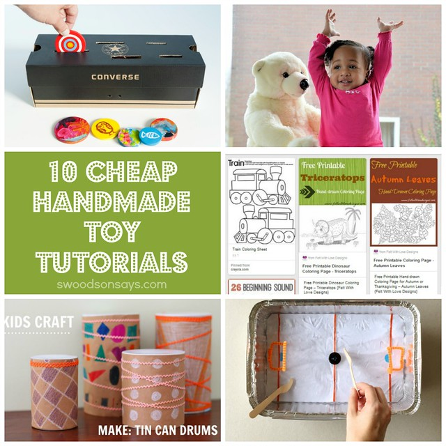 Cheap handmade toy tutorials