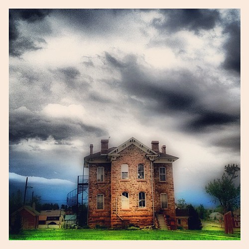 The old library in Fairplay CO ... haunted? by @MySoDotCom